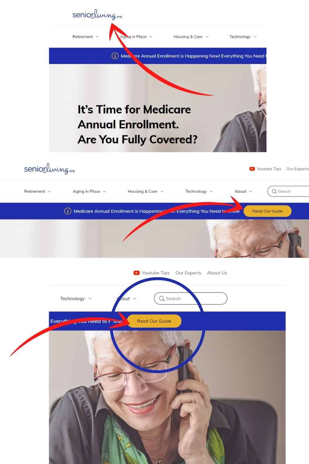 Learn more about Medicare plans at seniorliving com
